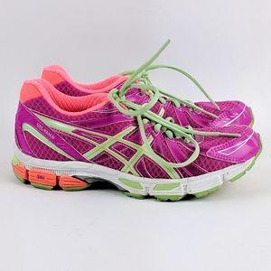 ASICS | Gel Exalt Pink Green Running Shoe